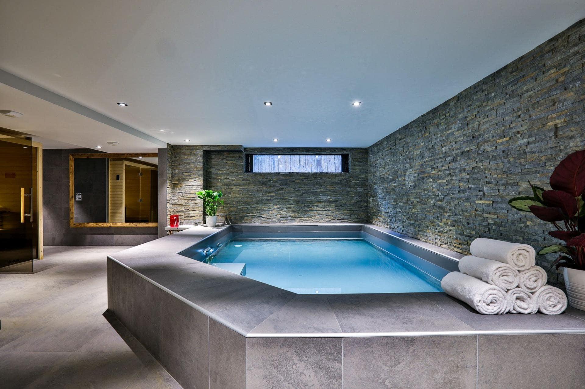 chalet luxe a louer avec piscine chamonix